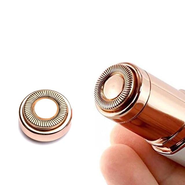 Mini Electric Hair Remover Painless Safety Lipstick Shape Body Facial Neck Leg Hair Remover Tool Epilator 1