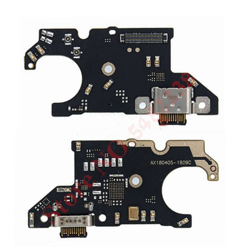 Original USB Charging Dock Port Flex Cable For Black Shark SKR-A0 Charger Plug With Microphone Connection Board Replacement Part