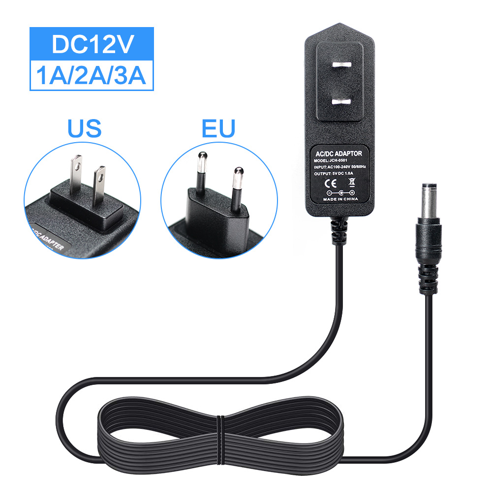AC DC Universal 5 V Power Adapter 1A 2A 3A Adapter 220V Zu 12 5 V Volt Netzteil adapter 5 V AC/DC EU Us-stecker Led Licht Lampe
