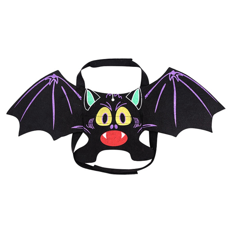 NewFunny Cats Cosplay Costume Halloween Pet Bat Wings Cat Fit Party Dogs Playing Accessories Clothes