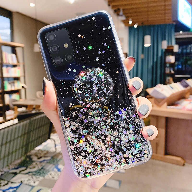 Tutucu kılıf Samsung Galaxy S20 Ultra S10E S9 S8 S10 not 10 9 8 artı A51 A71 A91 A70S a30S A20S A40S A90 M30 A50S kılıfları