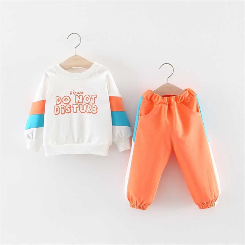 秋冬服子供ボーイズ服セット 2019 新しい服子供服女の子スーツ少年少女のための服セット
