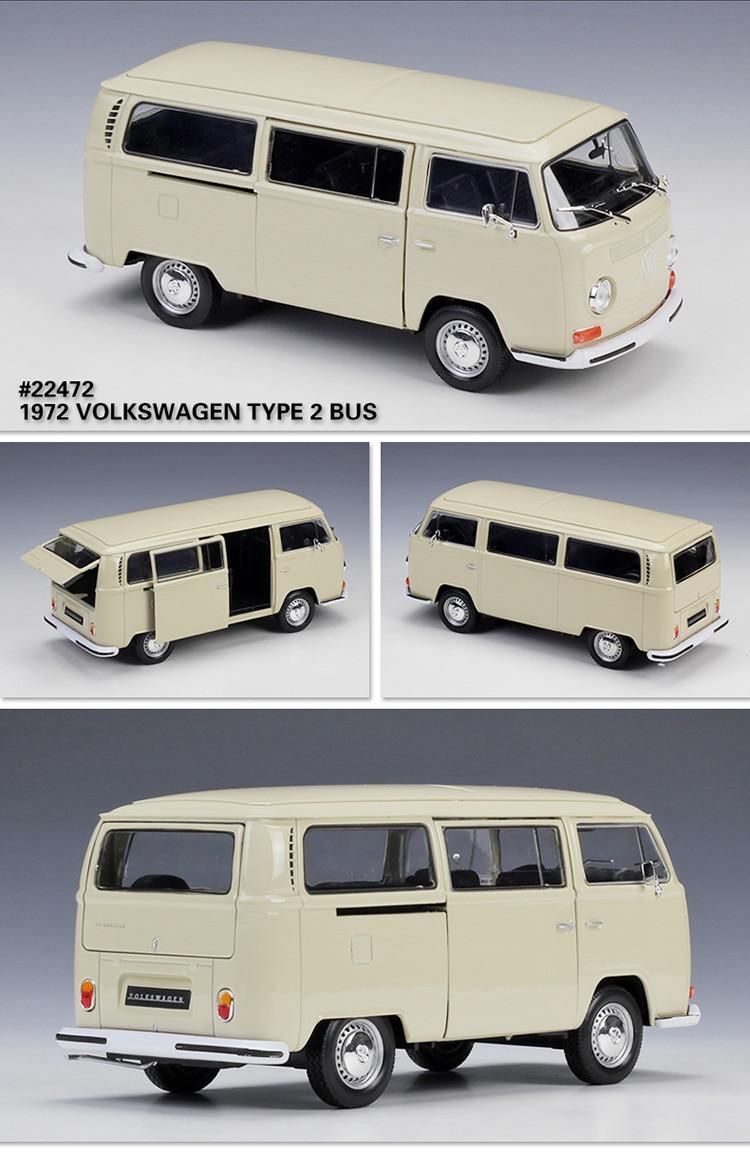 welly colecao de 124 onibus volkswagen t2 carro 04