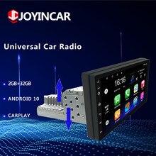 7 pollici singolo 1 Din Android 10/9.1 autoradio lettore multimediale navigazione GPS Stereo Carplay BT WIFI FM regolabile universale