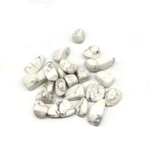 Naturalny biały turkus żwir Rock szorstki kamień Nugget uzdrowienie żwir sadzenia Pot akwarium wystrój domu Caft 7-9mm tanie tanio RongDe Jewelry Maskotka FENG SHUI Europa Kryształ