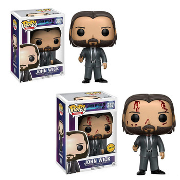 Movie John Wick Chapter 3 Action Figure Toys #387 Vinyl Decoration Collection Model Dolls for Kids Christmas Gifts 1