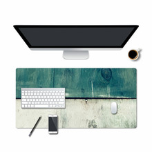High Quality Waterproof and Sweatproof Retro Mouse Pad Portable Large Gaming Mousepad PU Leather Desk 80x40/60x30cm