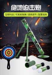 Звук и светильник, джедайская Ступка, может запускать ракету, стрельба, моделирование, военная модель, джедай, выживание, курица, игрушка, де...
