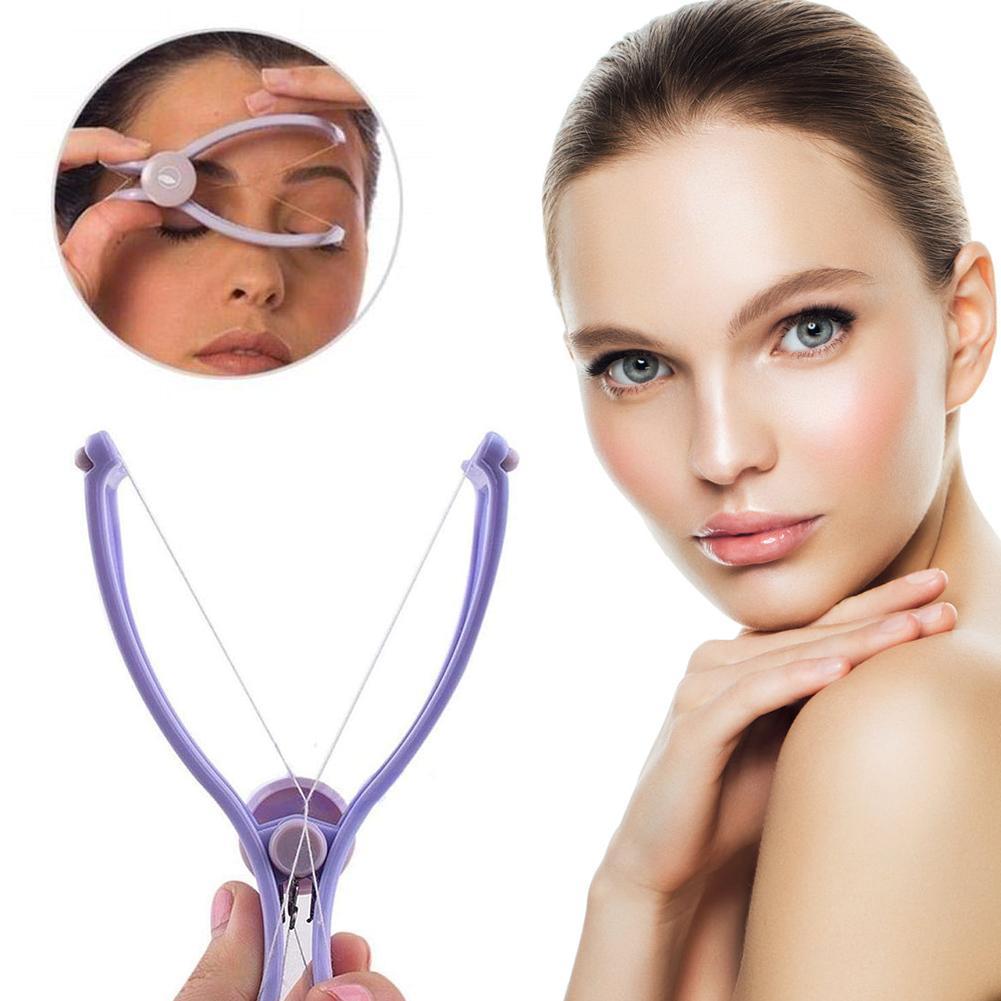 Spring Face Facial Body Hair Remover Threading Epilator Defeatherer DIY Beauty Nice Tool Epilator For Women