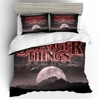 King Size Bedding Set duvets and linen sets Bed Linen Stranger Things Home Textiles Bed Linen Set Cotton Bedding Bedclothes