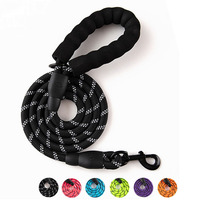 Nylon Training Dog Leash Webbing Recall Long Lead Line Pet Traction Rope Great for Teaching Camping Backyard