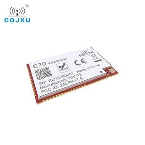 Image 5 - CC1310 وحدة 433 mhz 1 واط مصلحة الارصاد الجوية جهاز الإرسال والاستقبال اللاسلكي E70 433NW30S IoT 433 mhz IPEX هوائي الارسال والاستقبال