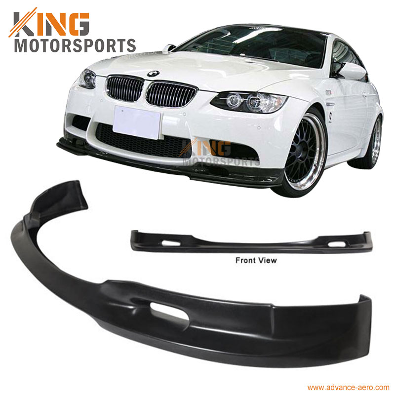 Fit For 08-13 BMW E90 <font><b>E92</b></font> E93 M3, 3D Style Euro Front <font><b>Bumper</b></font> Lip Chin image