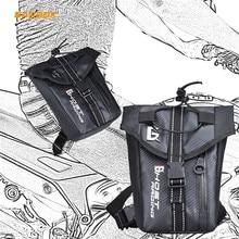 2.5L Motorcycle Drop Leg Bag Waist Belt Backpack Waterproof Cell Phone Mobile Gloves Pocket Storage Motorbike Riding Thigh Bags