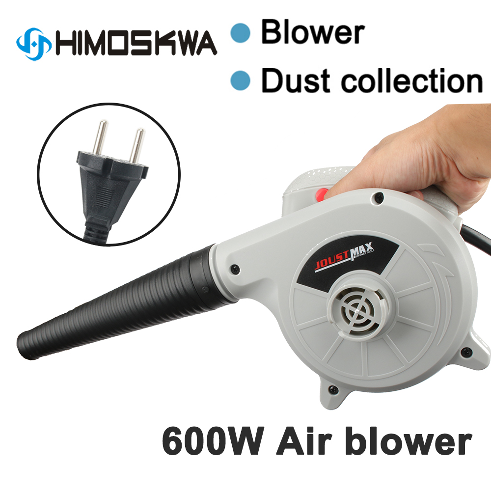 600W Electric Air Blower Vacuum Cleaner Blowing Dust Collecting 2 In 1 Computer Dust Collector Cleaner For Car EU Plug 220V