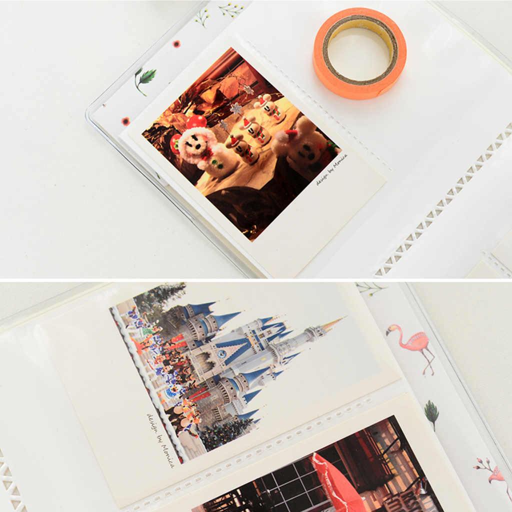 """64 Túi Hình Bộ Phim Album Cho FUJIFILM Instax Mini 8 Mini 9 7 S 50 90 Giấy Phim 3 """"Album Ảnh Người Tổ Chức bộ Phim Album Mới 2020"""