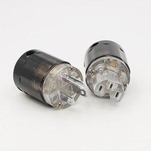 Image 5 - Cặp Đôi P004 + C004 Mạ Rhodium Mỹ Cắm Điện Hifi Mỹ Dây Nguồn Cắm + IEC Nữ Cổng Kết Nối