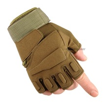 Outdoor Sports  Gloves Military Tactical Hunting Hiking Glove Half Finger Paintball Camping Motorcyle Racing Tactics Gloves