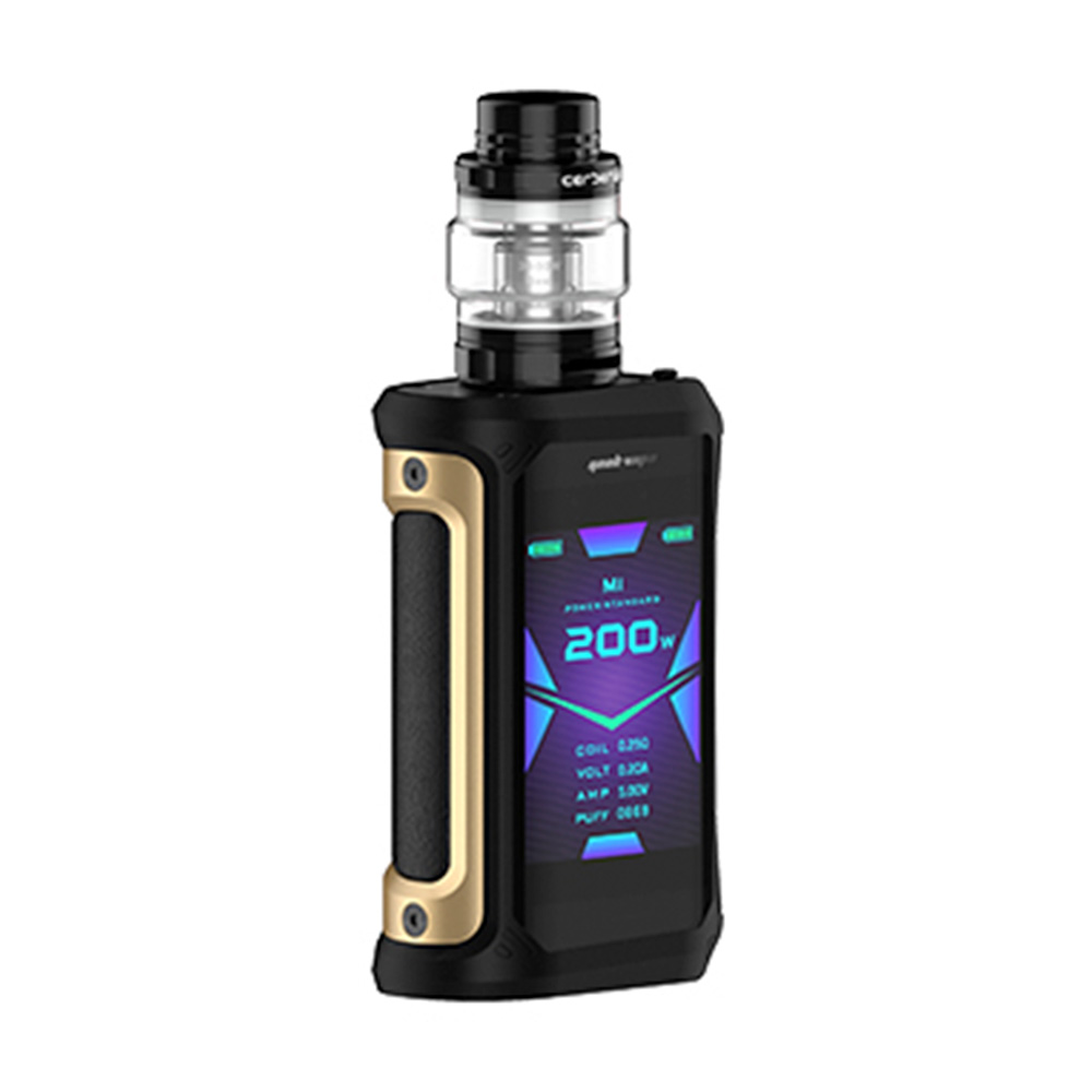 2pcs/set NEW Geekvape Aegis X 200W Vape Kit w/ 2.4 inch OLED Screen & AS2.0 Chipset E cig Box Mod Kit Vs Aegis Solo/ Legend/ GEN - 3