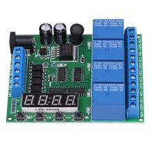 DC 4 Channel Multifunction Delay Time Timer Relay Switch Module Assortment