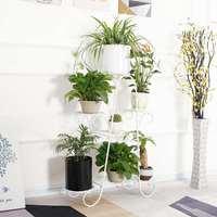 62*22*84cm 7 camadas flor estande interior multi história flor estande rack chão pé sala de estar varanda vaso de flores prateleiras|Prateleiras de plantas| |  -