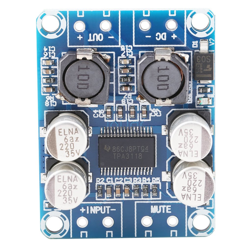 Tpa3118 Pbtl Mono Digital Power Amplifier Board 1X60W