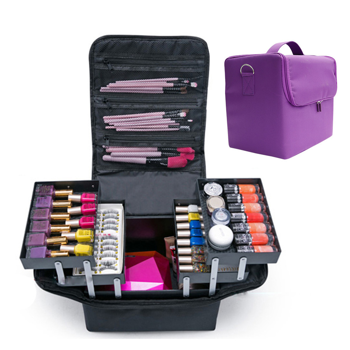 Protective Safety Instrument Tool Organizer Shockproof Storage Toolbox Sealed Tool Case Impact Resistant Zipper Suitcase