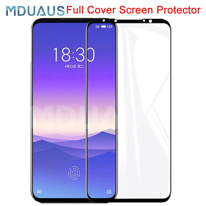 9D Full Cover Tempered Glass For Meizu 16 Th Plus 16X 16S 16XS 16T X8 M8 Lite Note 9 8 Screen Protector Protective Glass Film