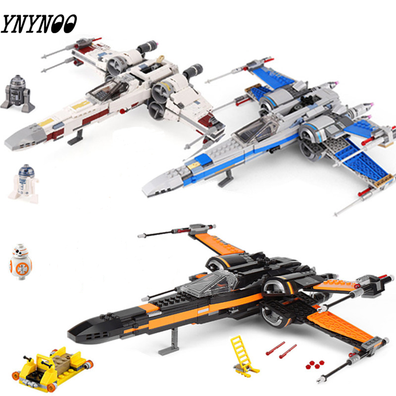 New Star Toys Wars X wing Star Plan Fighter Set The legoingly Starwars 75218 79209 Building Blocks Kids Christmas Birthday Gifts