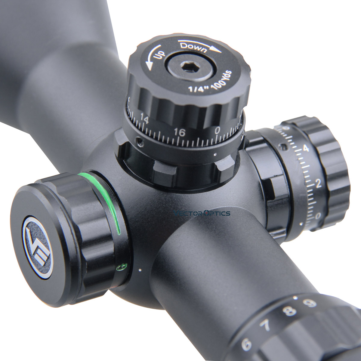 Image 4 - Vector Optics Cerato 3 9x32 Hunting Riflescope 1/4 MOA 25.4mm  Monotube Tactical Sniper Scope Ultra compact fit for .308 win  .338Riflescopes