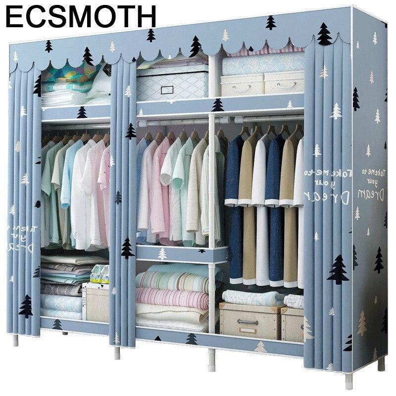 Placard Rangement Kleiderschrank Moveis Para Casa Ropero font b Closet b font Mueble De Dormitorio Cabinet