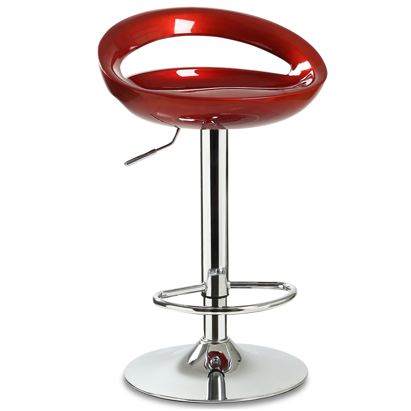 Simple Backrest Bar Stool High Stool Lift Front Desk Chair Bar Chair Modern Minimalist Home Bar Chair