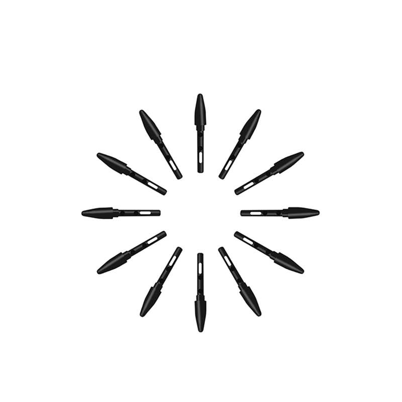 Стандартные черные перья для планшетов HUION UGEE Funtuos Gaomon VIKOO LIJING (P68/P80), 20 шт./лот