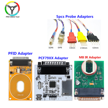 Adapter IPROG adapter MB IR Adapter RFID Adapter PCF79XX współpracuje z programmerem iPROG tanie i dobre opinie XTYDIAG CN (pochodzenie) IProg Pro adapter 10cm 30cm Metal Box and Adapter Inne 20cm PEC7941 52 53 61 diagnostic protocol through MSDA lines