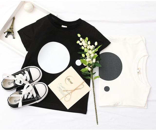 2020 di Nuovo Modo di Bambino Del Bambino Dei Bambini Dei Ragazzi di Estate T-Shirt Ragazze T Shirt A Manica Corta Per Bambini Carino Magliette e camicette Tee 1-8 anno 5