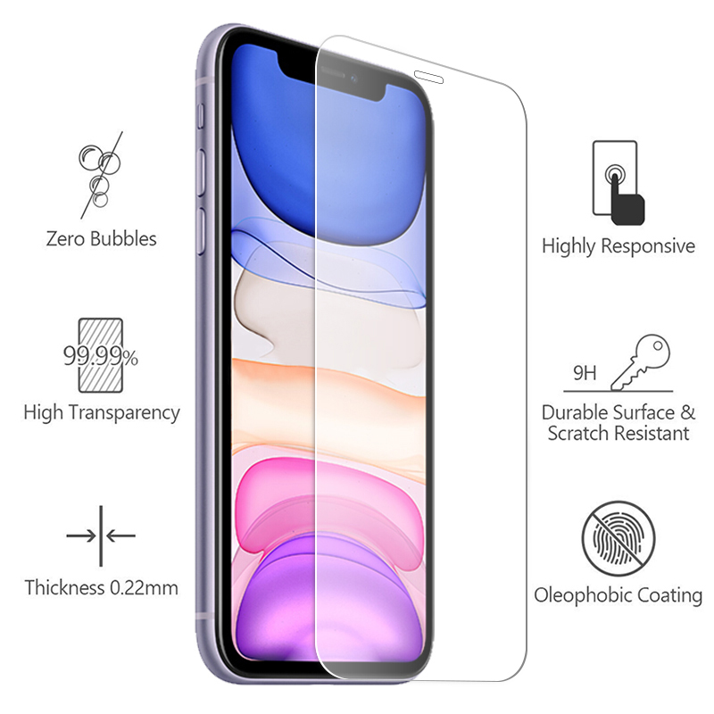 11proMax protective glass for iphone 11 pro max ip iphone11 phone11 11max 11pro 11p i phone screen protector tempered glas Film 6