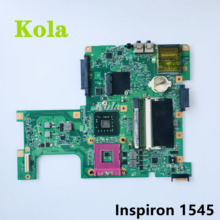 High quality For DELL 1545 Laptop Motherboard 0G849F CN-0G849F G849F 08212-3 48.4AQ01.031 SLB94 GM45 100% working well