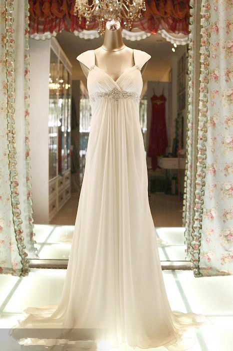 Custom Sexy Backless Chiffon Long Prom Party Gown 2018 New Vestido De Noiva Crystal Beading A-line Formal Bridesmaid Dresses
