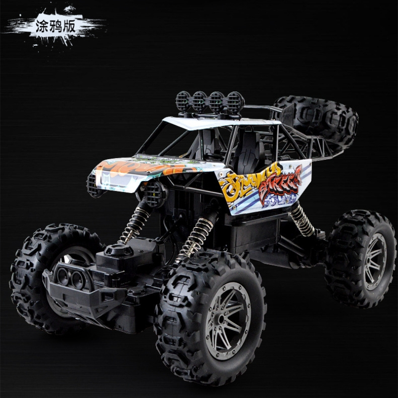 2.4G <font><b>RC</b></font> Car 4WD Toy Car Off-Road Trucks Toy <font><b>RC</b></font> <font><b>Drift</b></font> climbing Car <font><b>1:10</b></font> Toys For Children Kids Gift 7.2v 2000mAh Battery image
