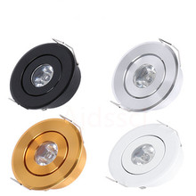 MINI Downlight Dimmable 1W 3W 6W High Power LED Recessed Ceiling DownLight Lamps LED Downlights for Living Room Cabinet Bedroom