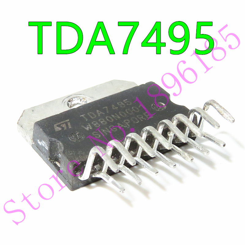Thd = Encapsulación 1PCS STK433-100: SIP-Zip af Power Amplificador 5 W 5 W Min