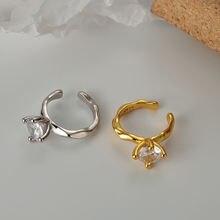 925 стерлингового серебра серьги кольца для женщин в Корейском