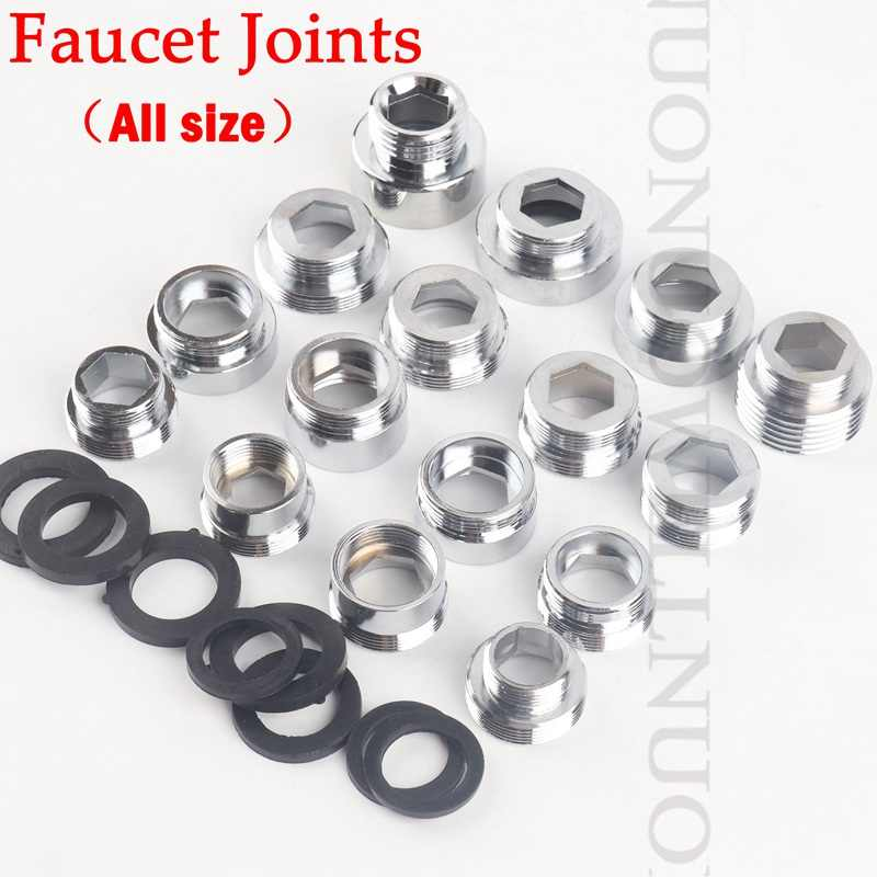 ZYR TSAKJ Faucet Aerator Adapter Brass Male M16 M18 M20 M21 M22 M24 Long Thread Spout Connecter Pipe Fittings Water Purifier Accessories Color : M16M22
