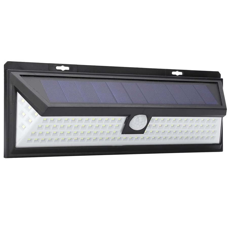 Solar Powered LED Lihgt Motion Sensor Solar Light Wall Mounted Wall Light Easy to Install for Home Yard Outdoor Garden