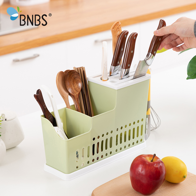 BNBS Kitchen Knife Holder Bag Block Organizer Rack Case Stand For Knives With Filler Home Utensils Household Kitchen Supplies