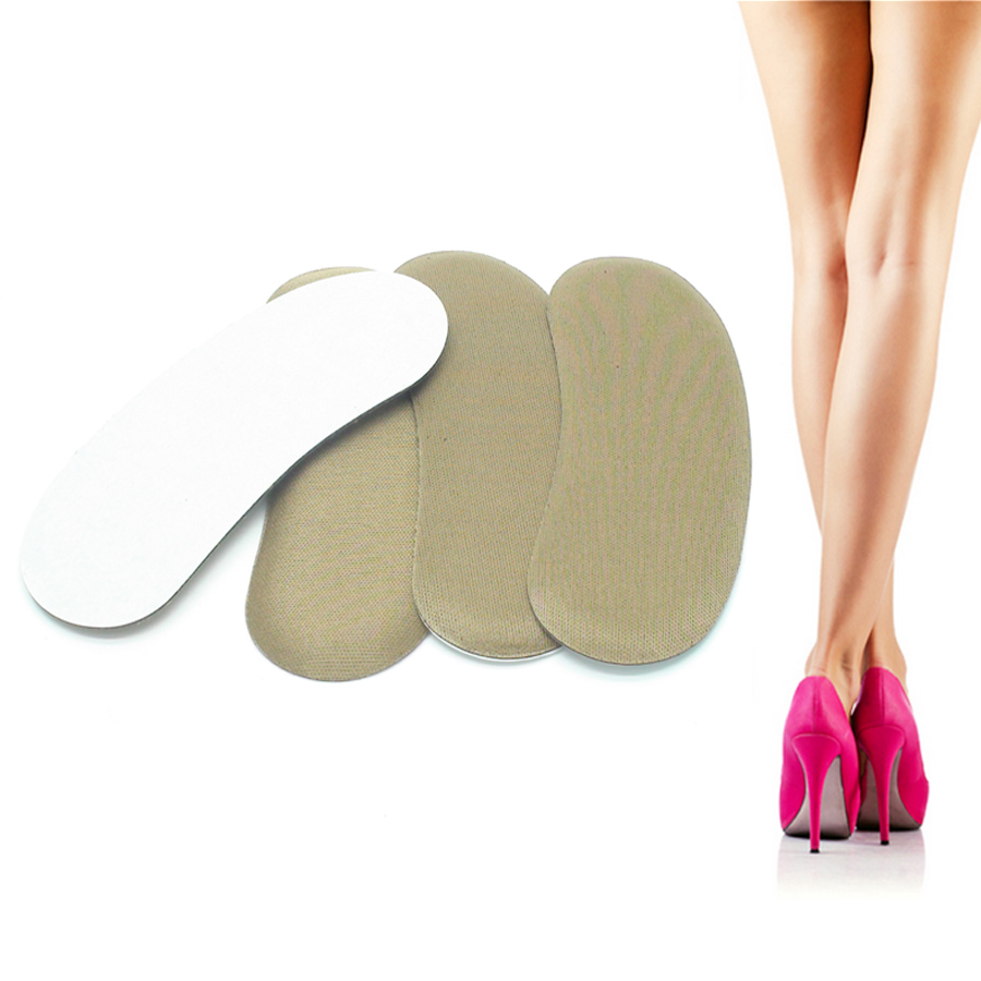 4Pcs/2Pairs Foot Heel Pad After The Sponge Pad Size Thread With No Heel Shoes Stickers Affixed Heels Keep Abreast Z04902