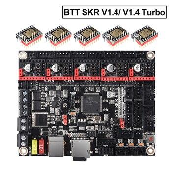 Bigtreetech skr v1.4 placa de controle btt skr v1.4 turbo 32 bit wifi peças impressora 3d skr v1.3 mks gen l tmc2130 tmc2209 tmc2208