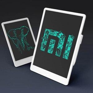 Image 5 - Xiaomi Mi LCD yazı tahtası yazma Tablet kalem ile dijital çizim elektronik el yazısı mesaj Mat grafik kartı mesaj panosu