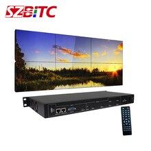 цена на SZBITC HDMI Video Wall Controller 2X3 2x2 HDMI+VGA+DVI+USB LCD Video 180 Degree Rotation Splicing Processor 3x2 2x1 3x1 4x1
