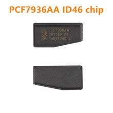 Оригинальный чип транспондер pcf7936aa ID46, 10, 20, 30, 50, 100 шт., PCF7936, разблокировка ID 46, PCF 7936 (обновление PCF7936AS), карбоновый автомобильный чип